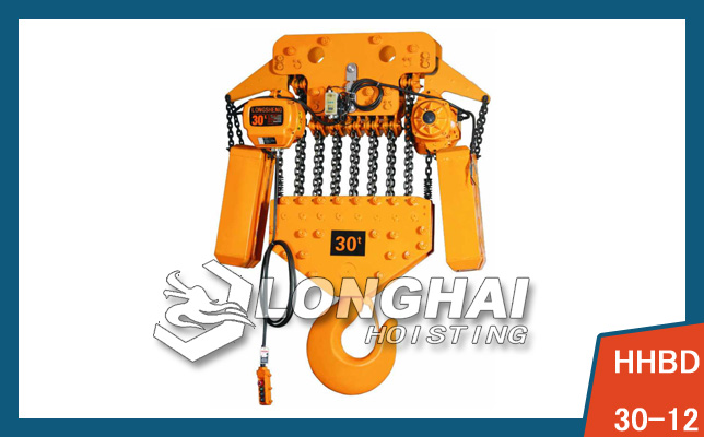 Electric Chain Hoist—30 Ton