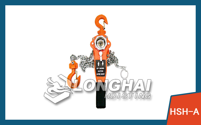 Chain Lever Hoists in Japan Style -HSH-A