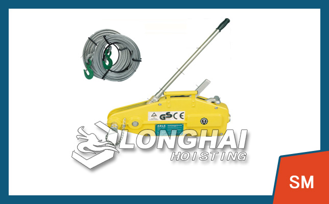 Wire Rope Pulling Winch
