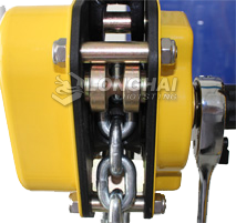 Mini Chain Lever Hoists Side view