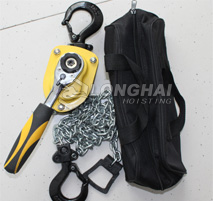 Mini Chain Lever Hoists Package Picture