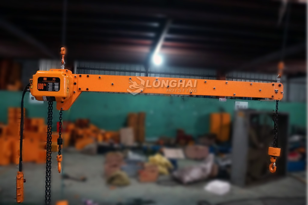 Double Hook Electric Chain Hoist