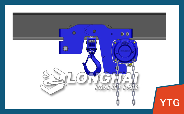 Ultra Low Headroom Manual Chain Hoist