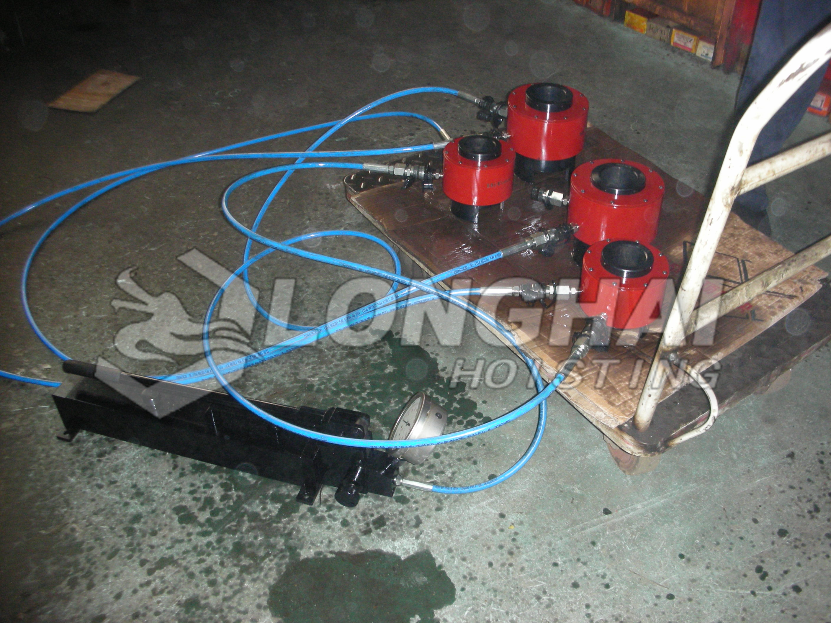 High Pressure Single Acting Hand Pump