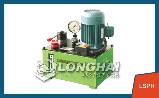 High Pressure Electric Pump Station