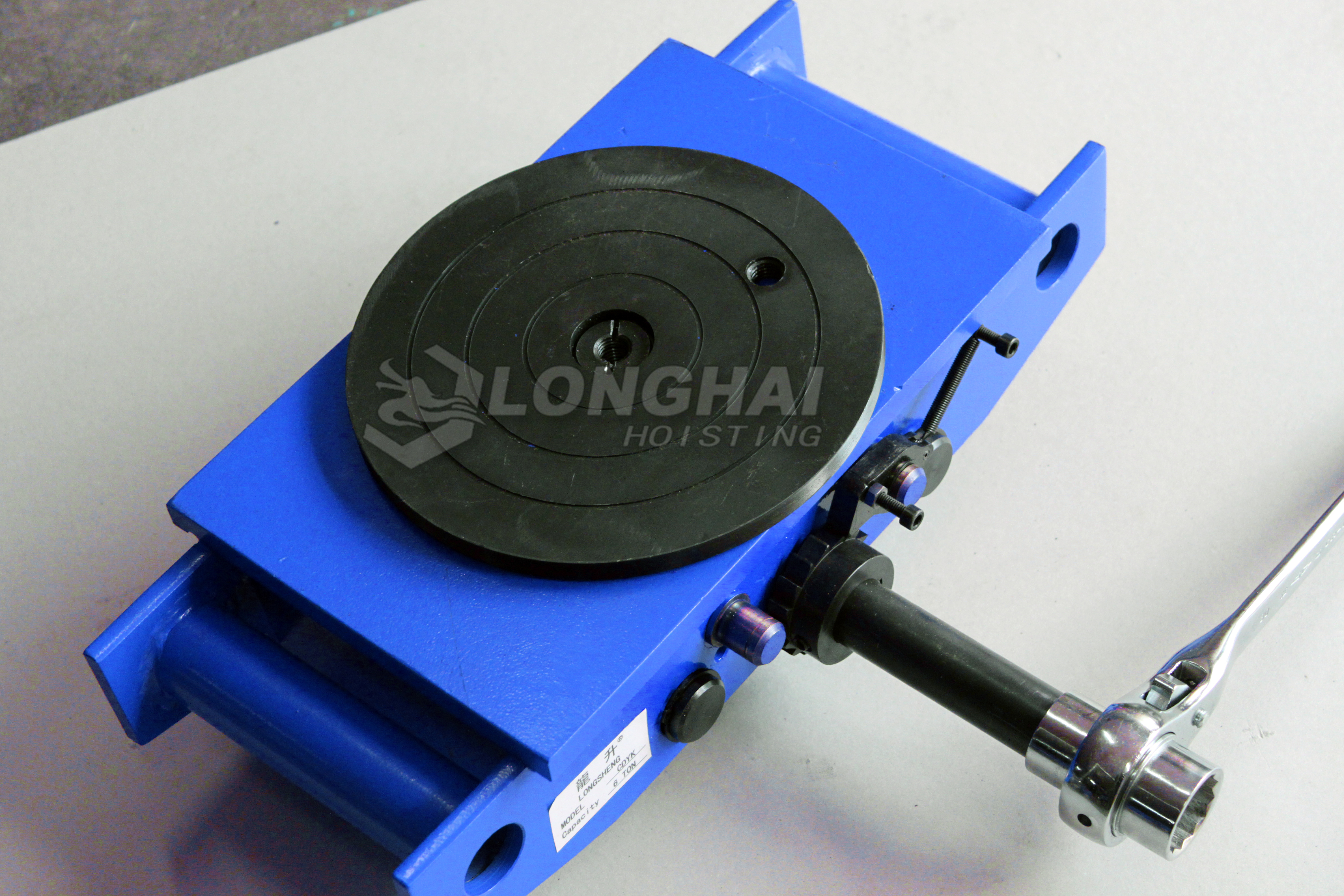 Machine Skates with Hand-operated Handle-drive type-LHUW-S