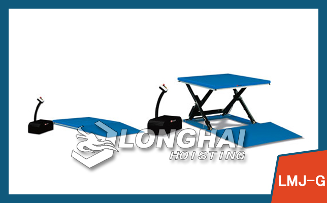 Low Profile Hydraulic Pump Electric Lift Table