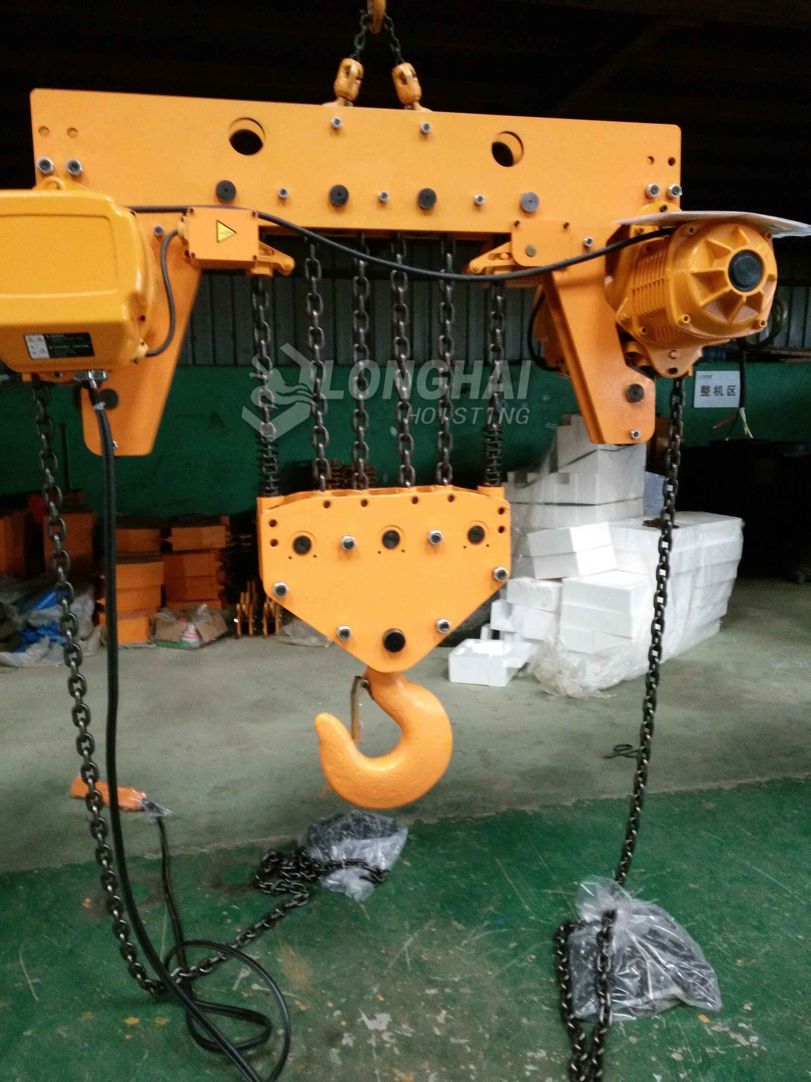 15 Ton Electric Chain Hoist is in production