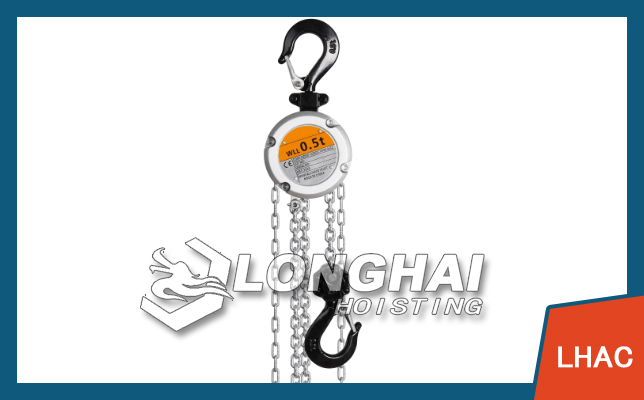 Aluminum Alloy Chain Hoist