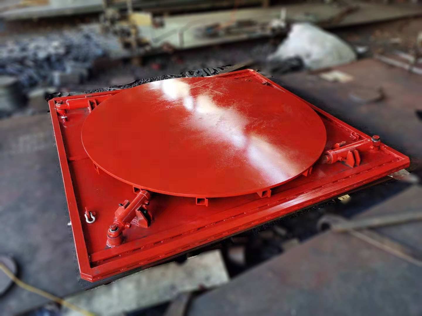 Industrial Heavy Duty Ring Bearing Turntables